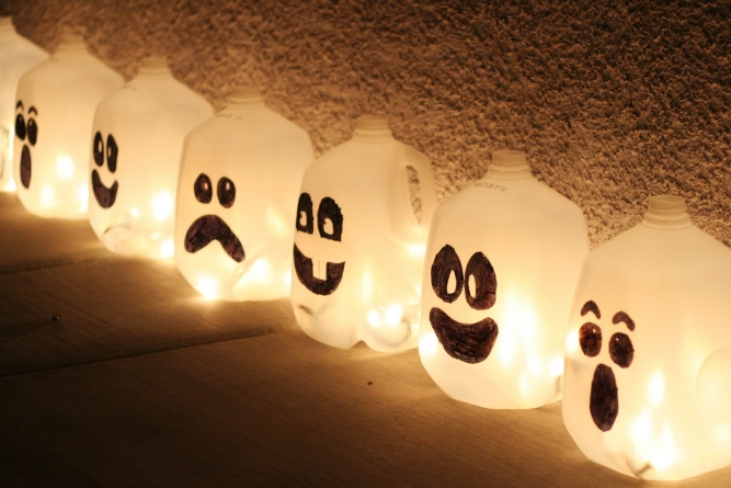 Spooky Halloween Decorations Using Common Household Items
