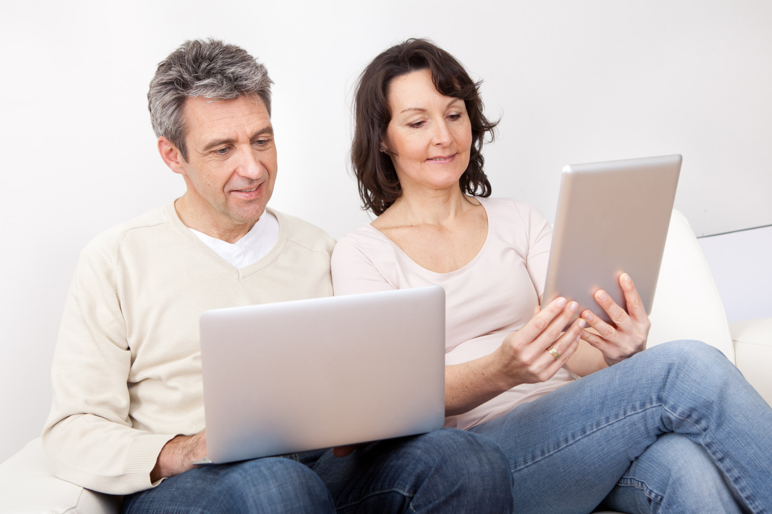 Parents using Facebook