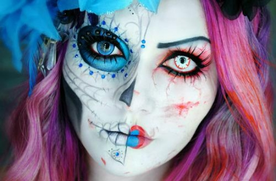 Scare Your Friends with These Creepy Halloween Makeup Ideas