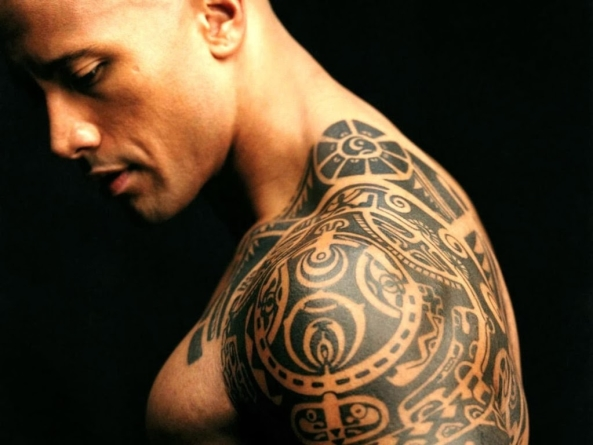 Hollywood Celebrities With Bizarre Tattoos