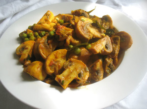 With overly fat mushrooms. Photo from: foodandspice.blogspot.com