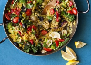 A souped up version of rice with mixed vegetables. Photo from vegetariantimes.com
