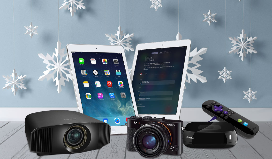 Christmas gift ideas for gadget lovers