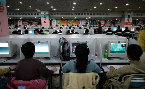 Seeing Internet cafes all over Korea is commonplace. Photo from dailymail