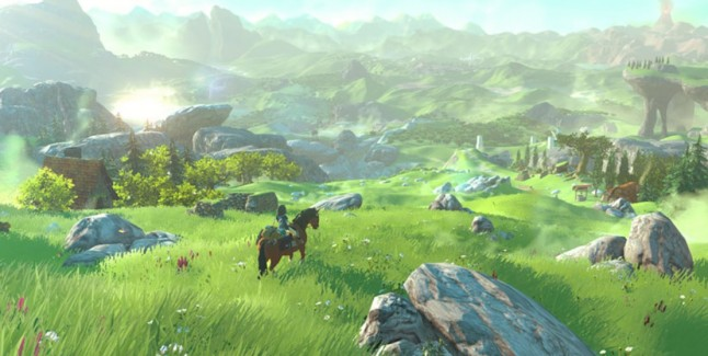 Hyrule never looked this picturesque.