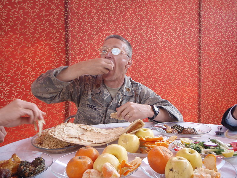 Even army officers need a ton of nutrients to keep going.