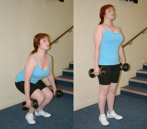 She doesn't have huge muscles. Photo from Wikimedia Commons.