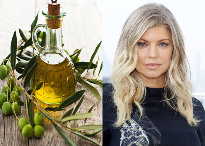 Fergie Uses Olive Oil