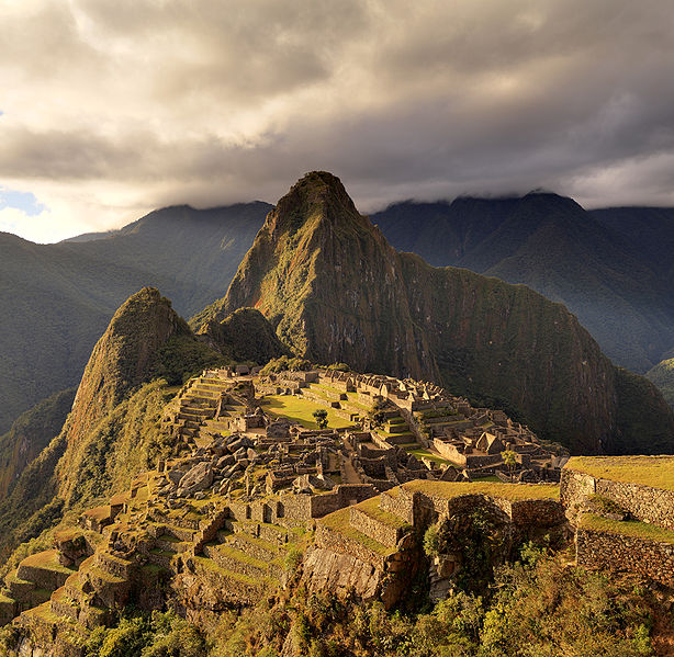 Just look at this ancient Incan city.