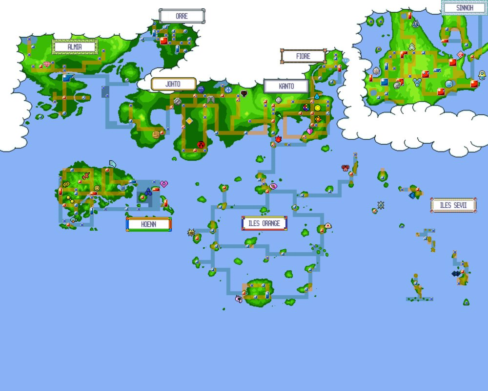 Is a Pokemon game with every region included possible?