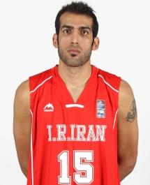 Hamed Haddadi. Photo from FIBA.