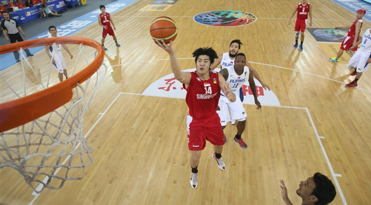 Delvin Goh #14. Photo by FIBA.