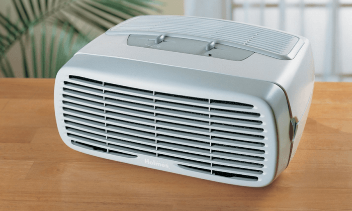 20 nifty gadgets that keep you healthy at your desk scoopfed for Office air purifier amazon