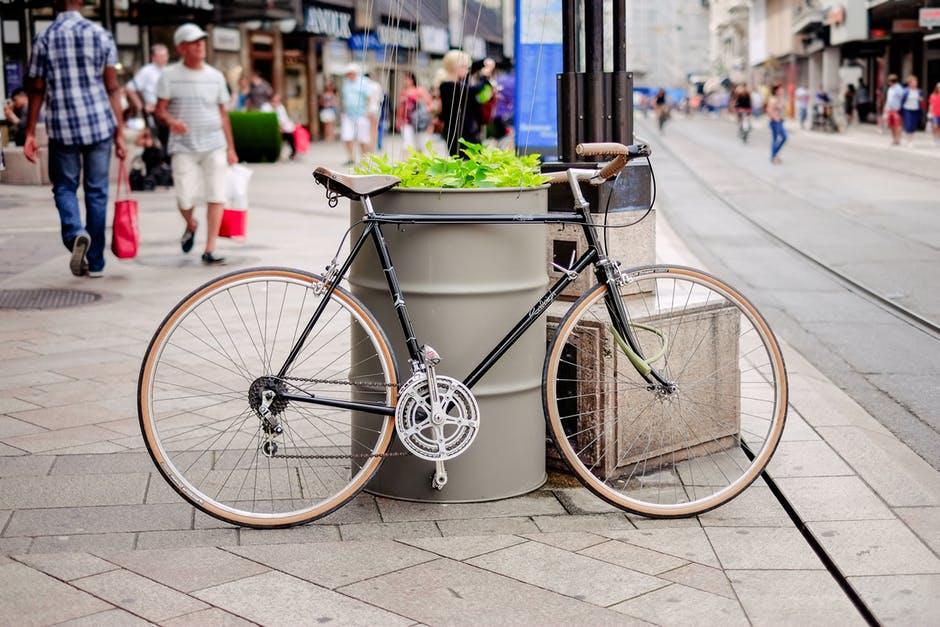 "Photo of ""Braking"" Biking Barriers"