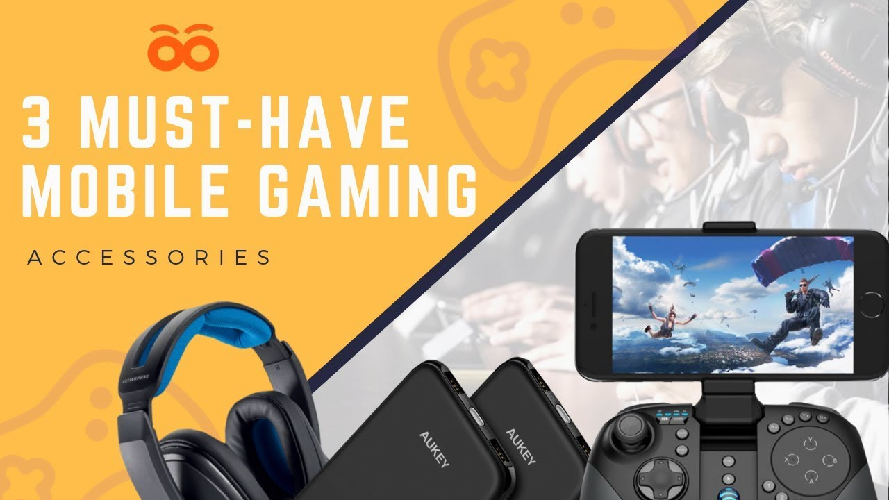 Photo of Top 3 Must-Have Mobile Gaming Accessories